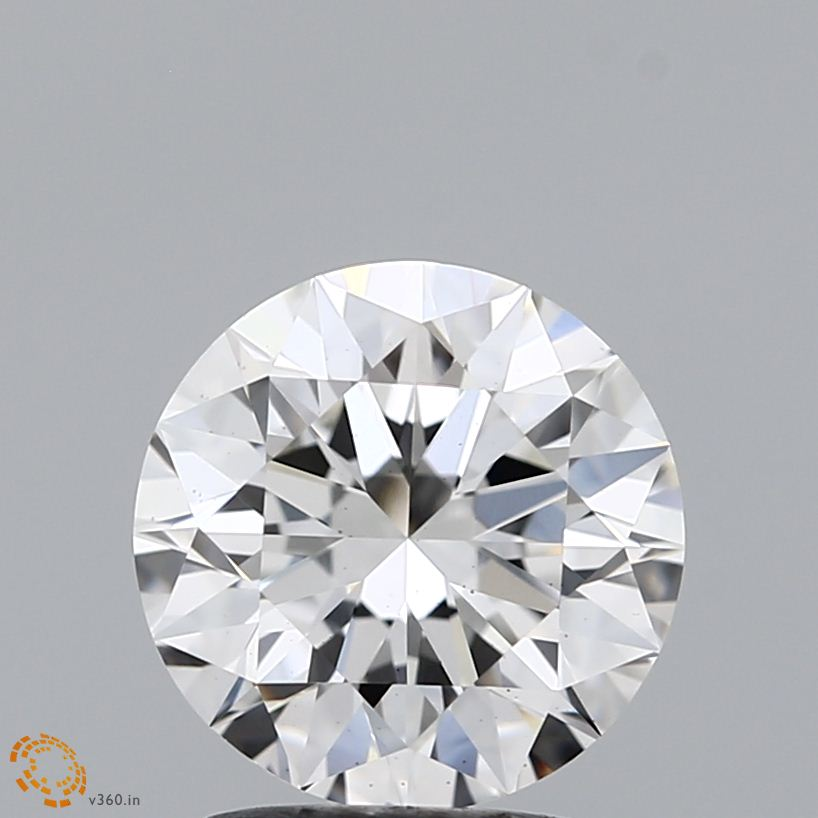 1.86 Carat G-VVS2 Ideal Heart Diamond
