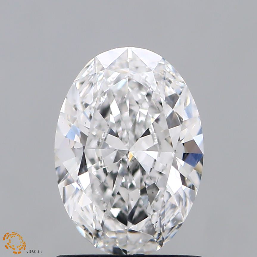 1.04 Carat E-VS2 Excellent Oval Diamond